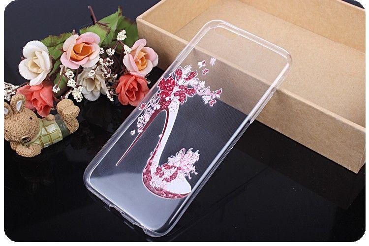 iphone6ケース アイフォーンケース 透明保護ケース シリコン製4.7柔軟アイフォーンケース 浮き彫り激薄アイフォーンケース 女性用アイフォーンケース