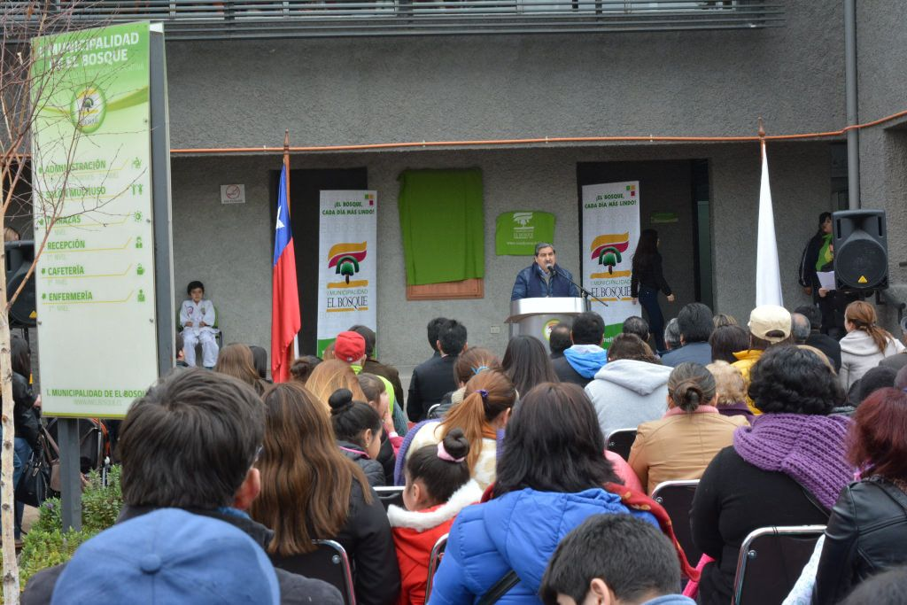 Inauguración Complejo Deportivo Carlos Abarca Complejos