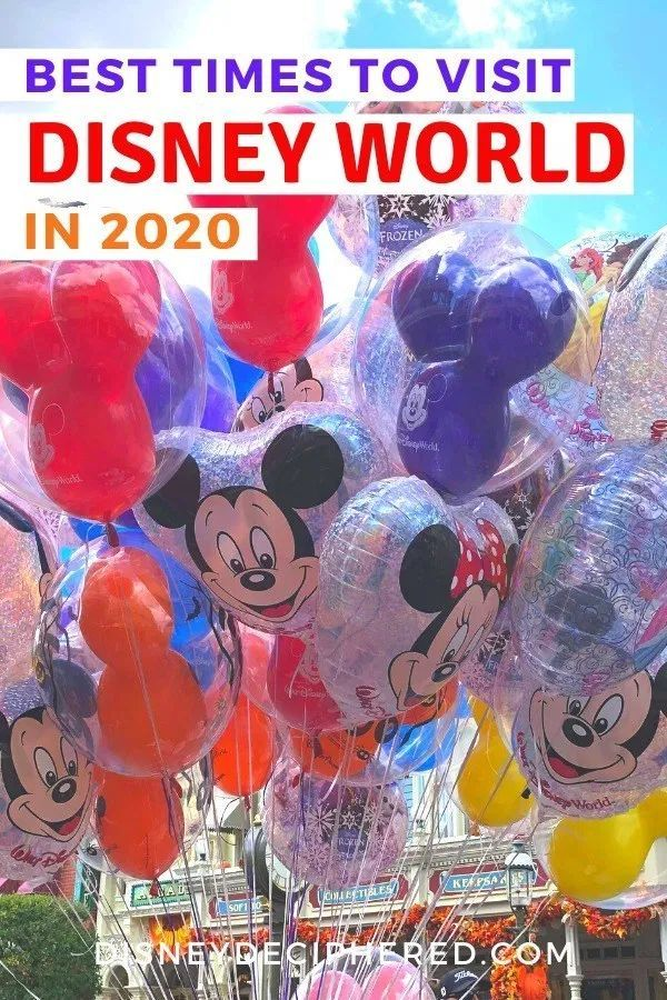 Best Times To Visit Walt Disney World In 2020
