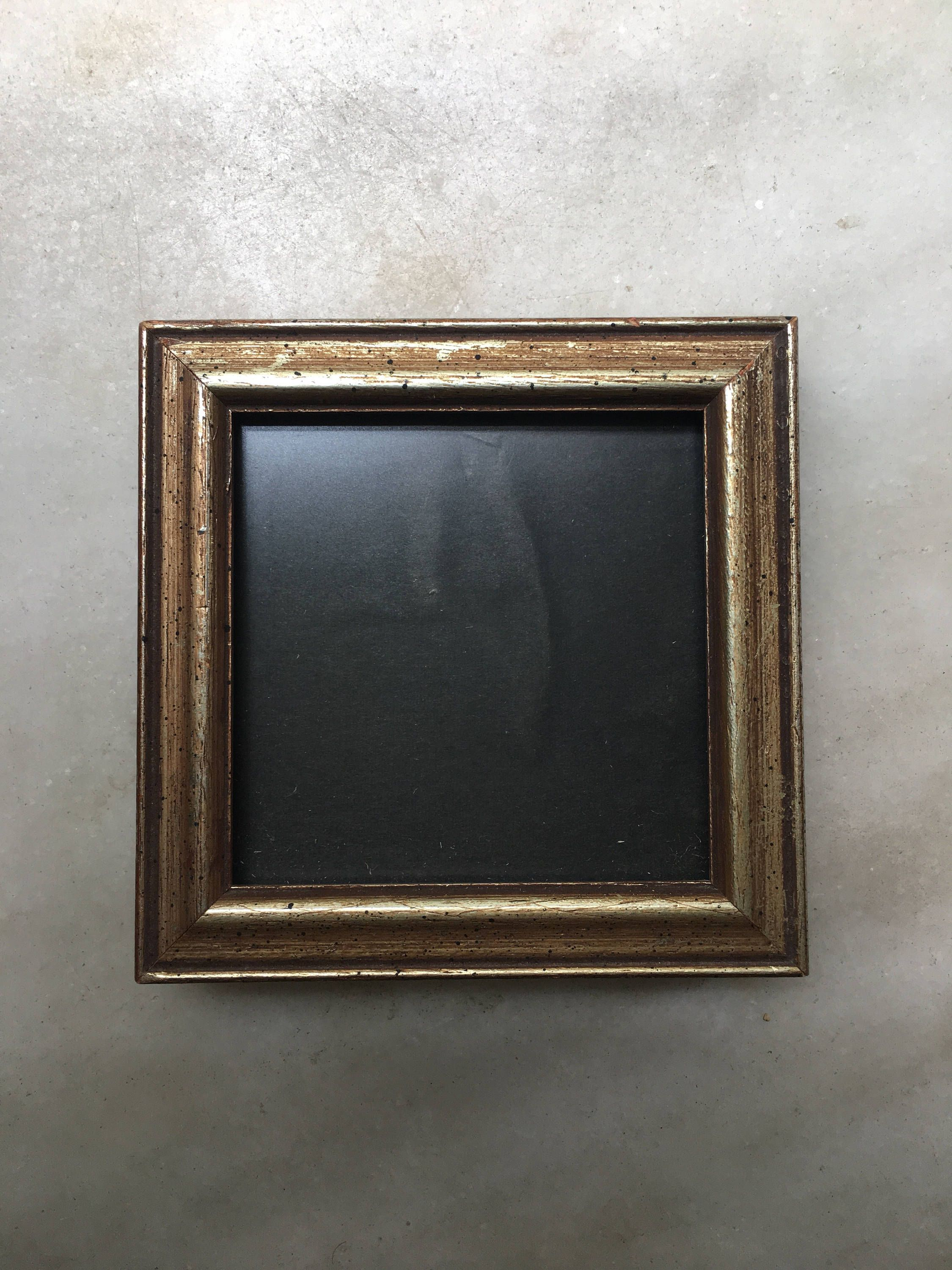 Small Vintage Gilded Wood Photo Frame Stand Up Or Hang Up Frame By Aniadesigns On Etsy Frame Picture Frames Wood Photo Frame