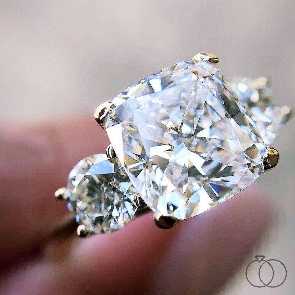 RB Signature 14K Yellow Diamond Engagement Ring Setting 1