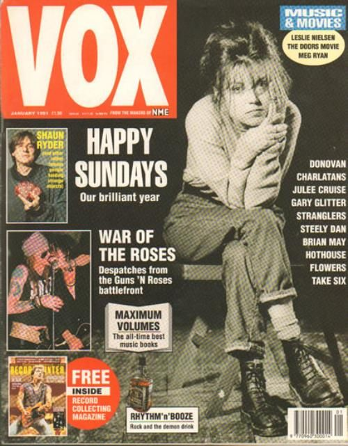 The Sundays - Vox - Issue 4 - January 1991