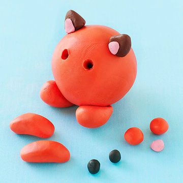 Make Cute Clay Animal Crafts | For my girl | Clay animals ...