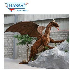 So this life-size dragon is pretty cool at 9.5 Ft Long, 8 Ft Tall, but the fact that only one is available and it is $14,000 seems crazy.