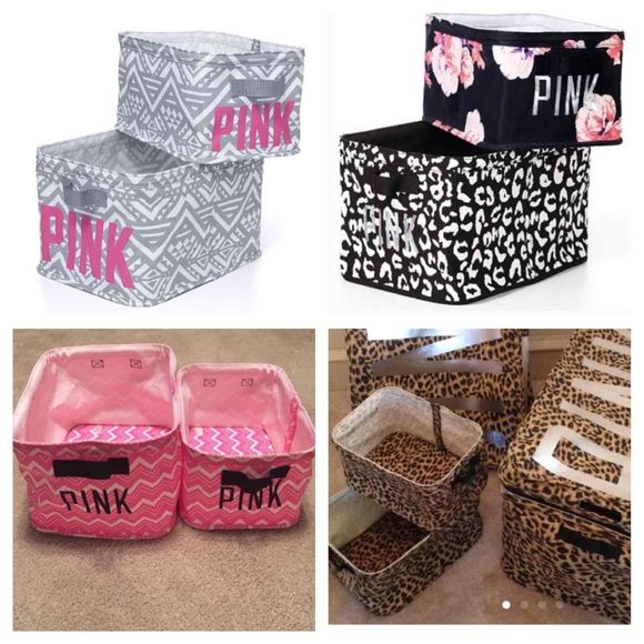 Looking For Vs Pink Storage Bins!!! Someone Please Help