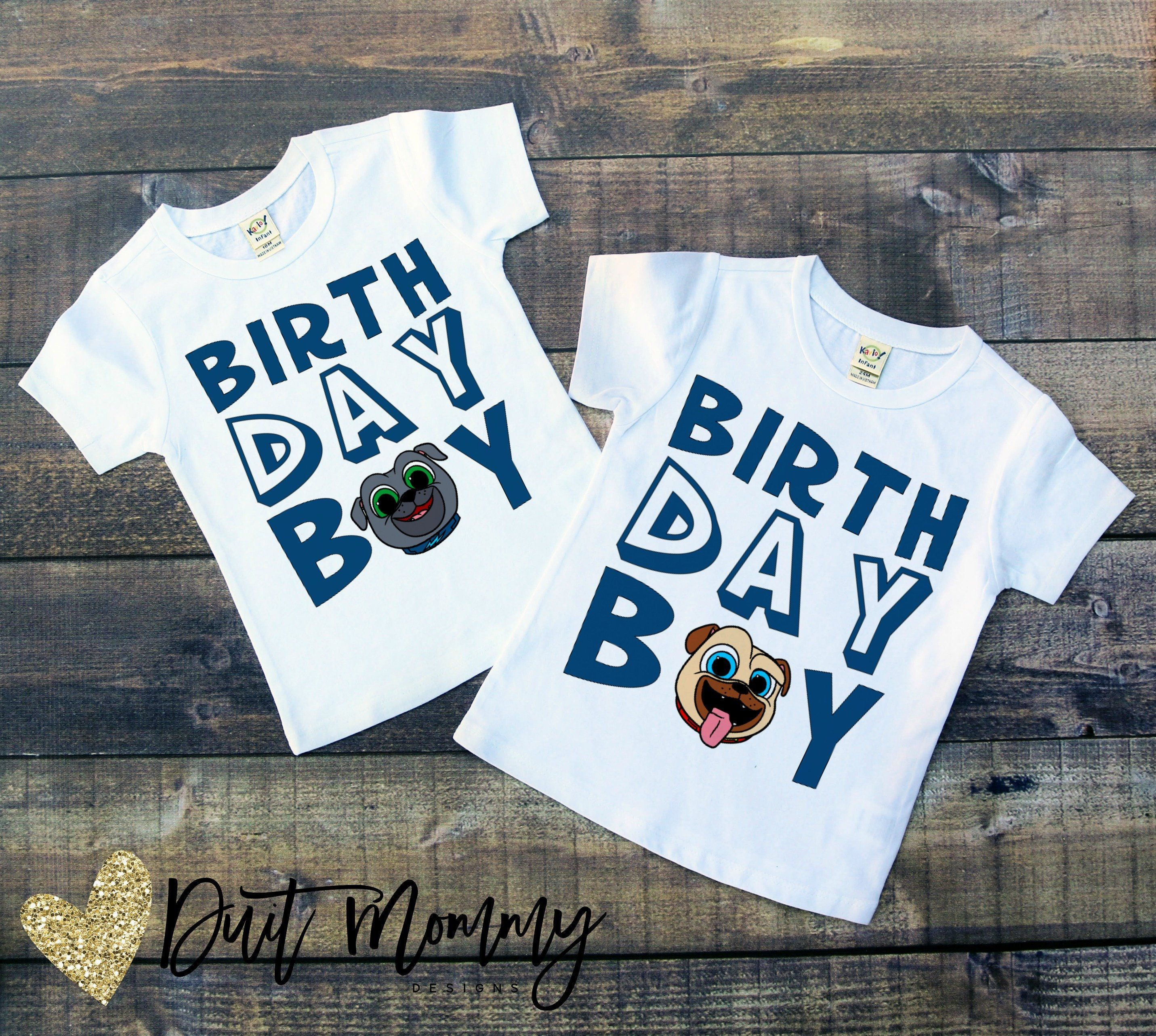 Puppy Dog Pals Birthday Boy Or Girl Shirt Puppy Birthday Parties Boy Birthday Puppy Birthday