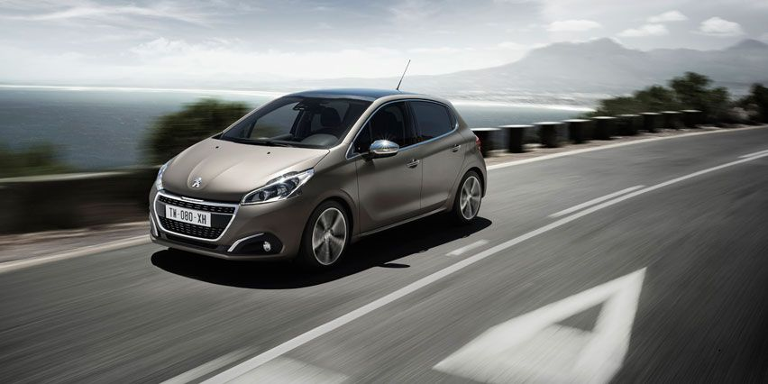 The New Peugeot 208 With A New Texture Color Ice Grey Peugeot