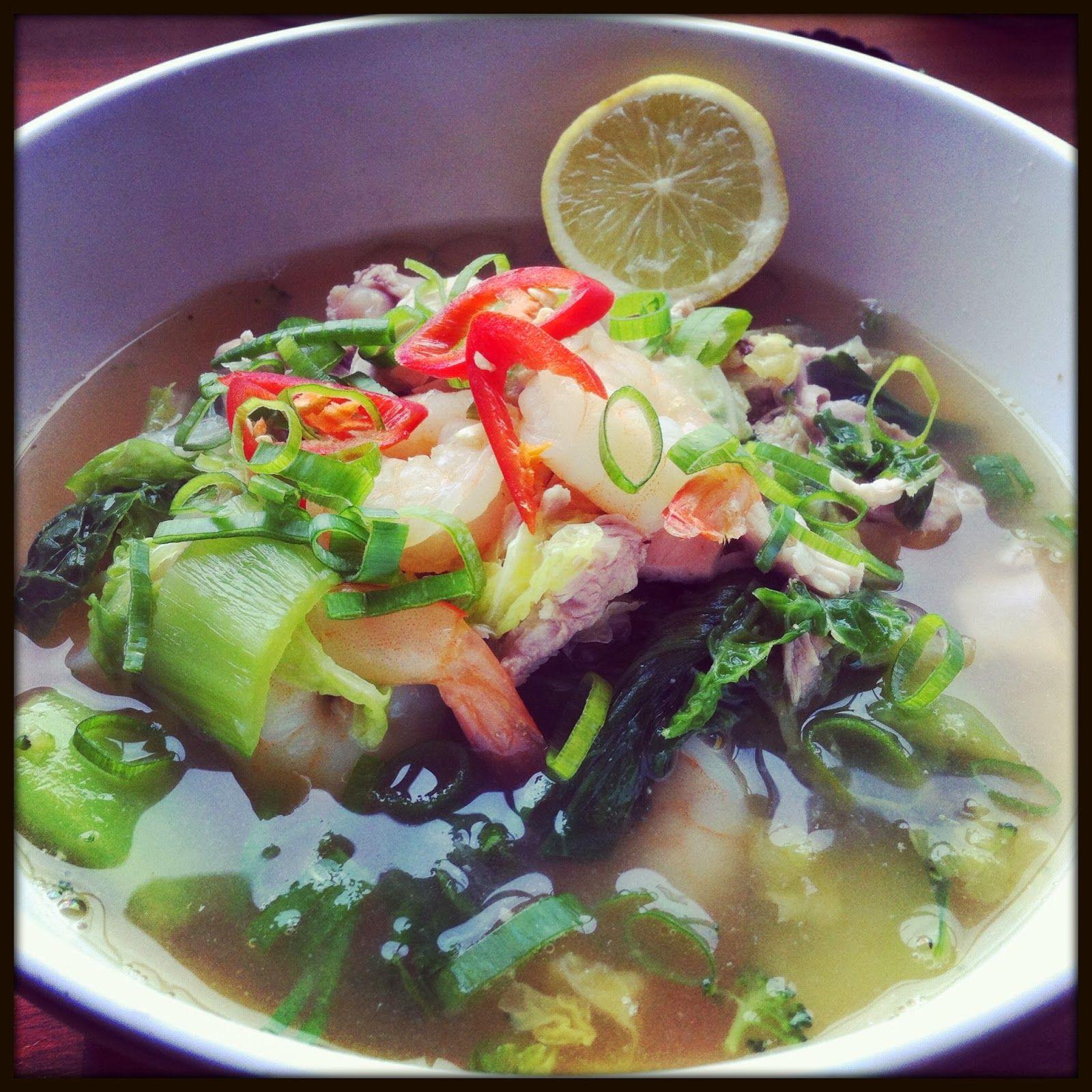 Thai Chicken soupRapid fitness friendly Tv food, Recipes