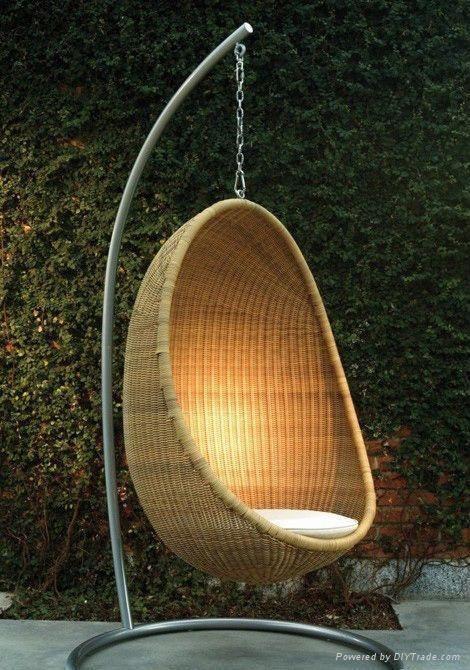 Ei Stoel Hangend.Garden Furniture Stoel Ontwerp Hangstoel En Stoelen