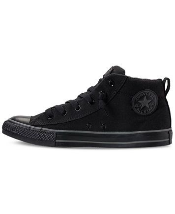 ea84216de8559d Converse Men s Chuck Taylor All Star Street Mid Casual Sneakers From Finish  Line