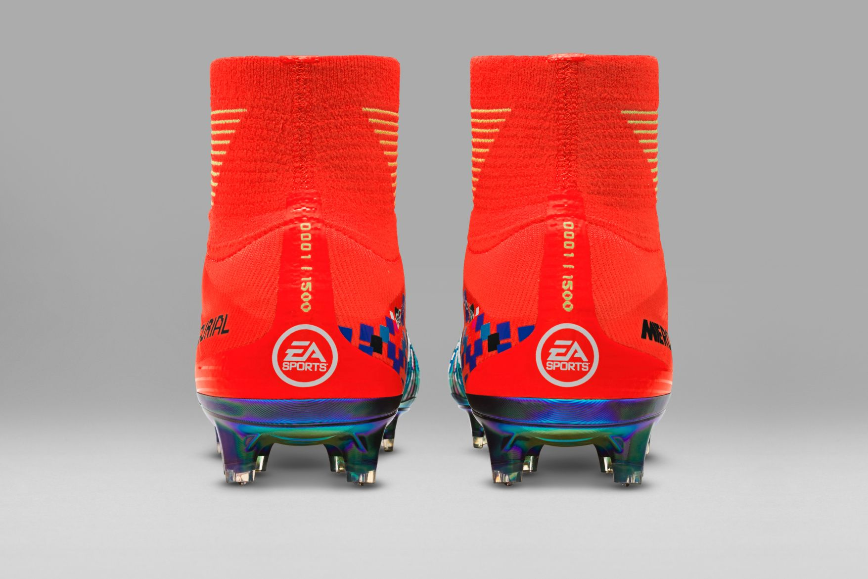68e37f261b837 Nike s Mercurial Superfly x EA Sports Football Cleats are a Pixilated Dream…