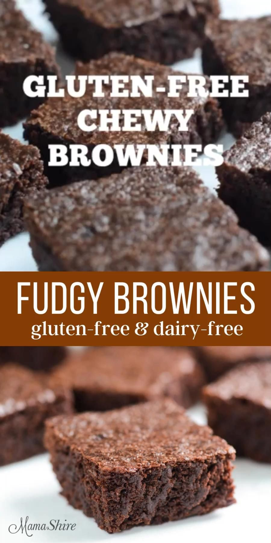 Photo of Gluten-Free Brownies (Dairy-Free)