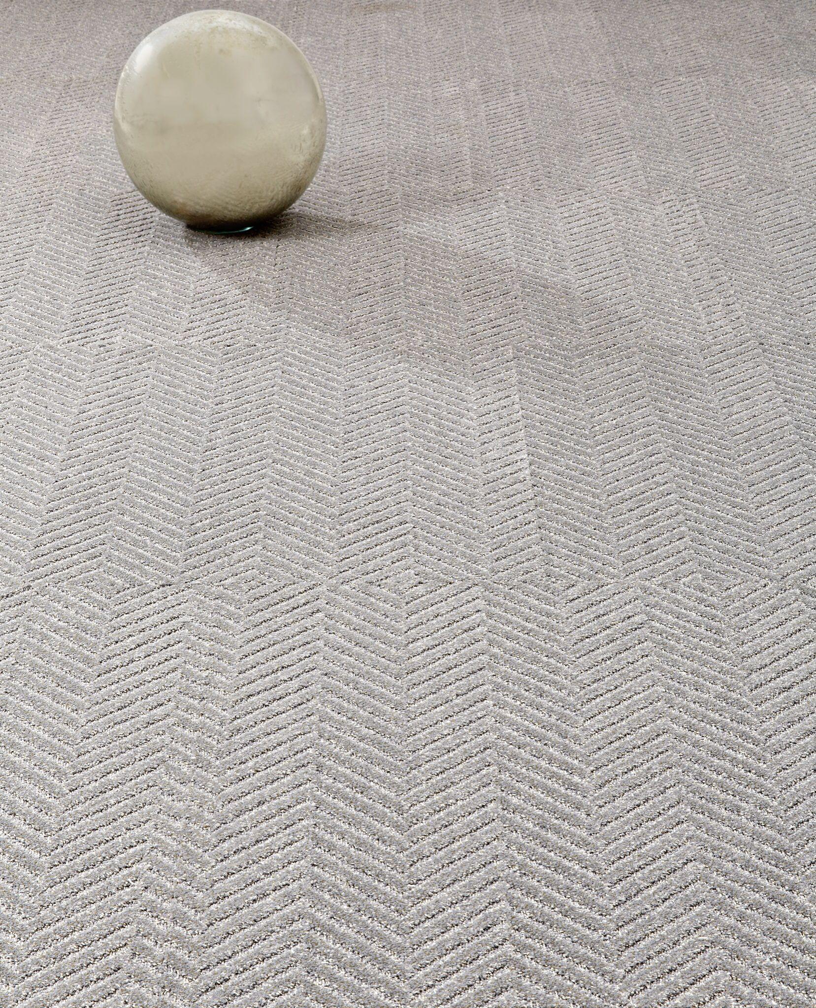 """Totally Herringbone Carpet Tile Cool Gray 24""""x24"""" carpet tile"""