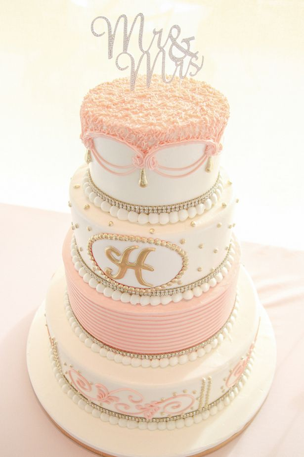 white peach and gold wedding cake blush wedding wedding cakes and beyond 27306