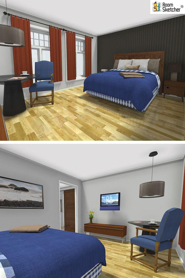 Bedroom Designer Free Are You An Hospitality Designer With Roomsketcher Home Designer