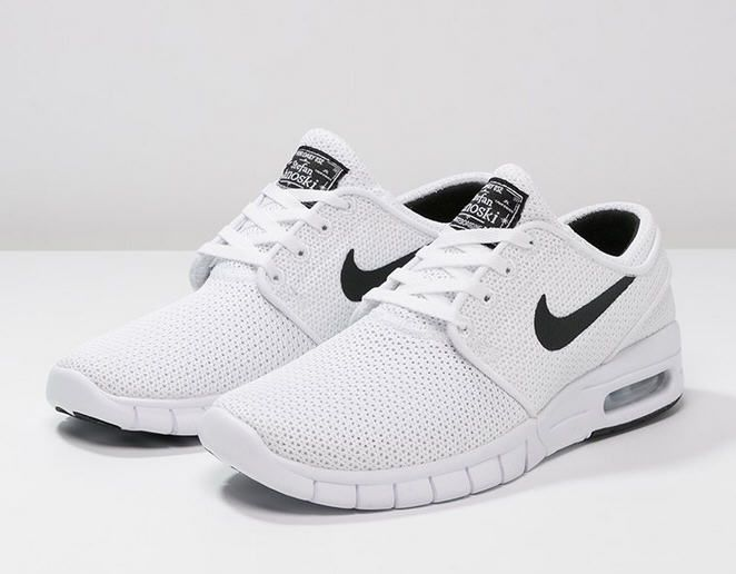 buy popular 03a24 06d98 Nike SB STEFAN JANOSKI MAX Baskets basses - white black platinum prix Baskets  Homme Zalando 125.00 €