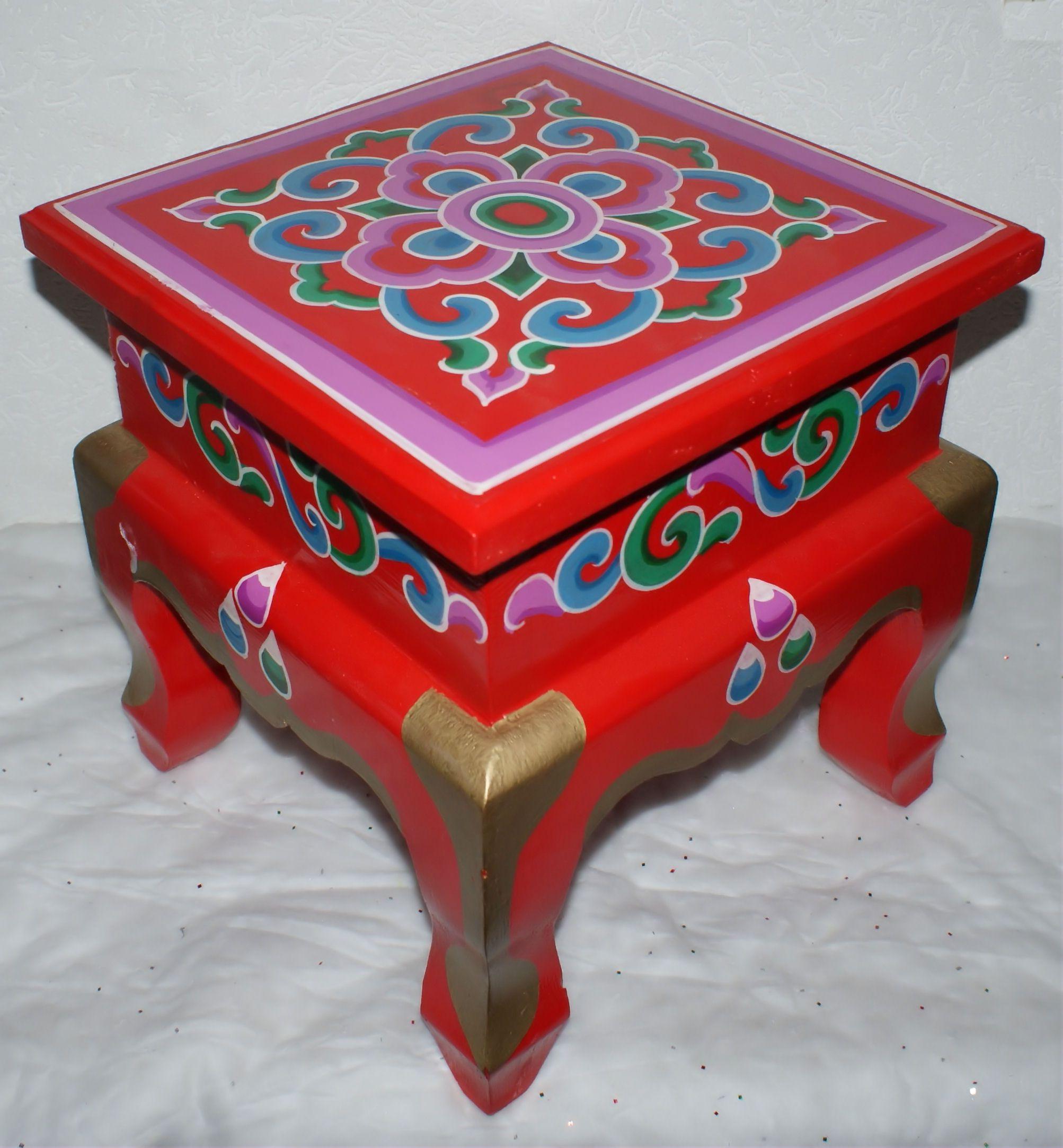 Original Mongolian Chair Mobilier De Salon Deco Mongolie