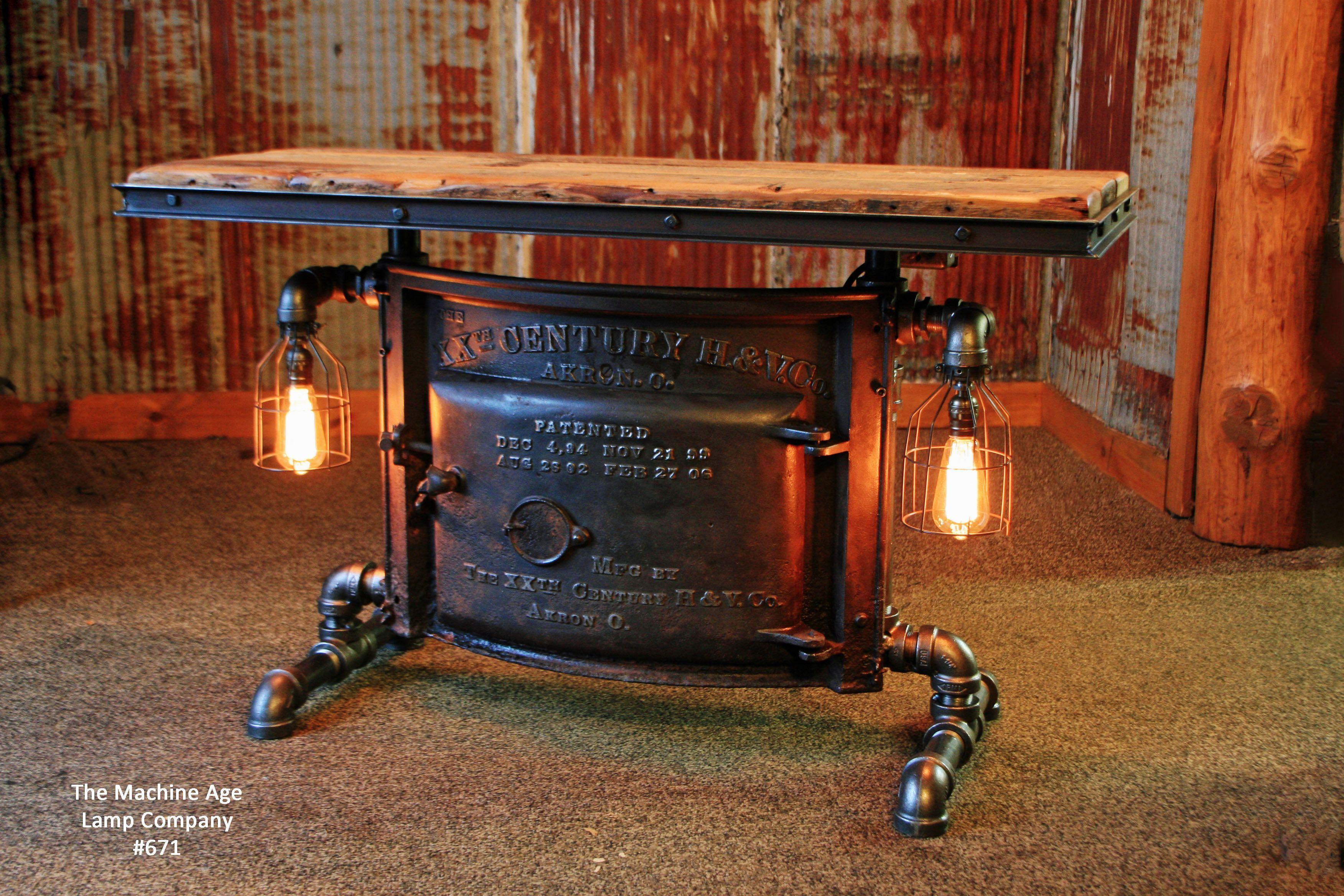 Steampunk Coffee Table Diy In 2020 Steampunk Coffee Table Diy