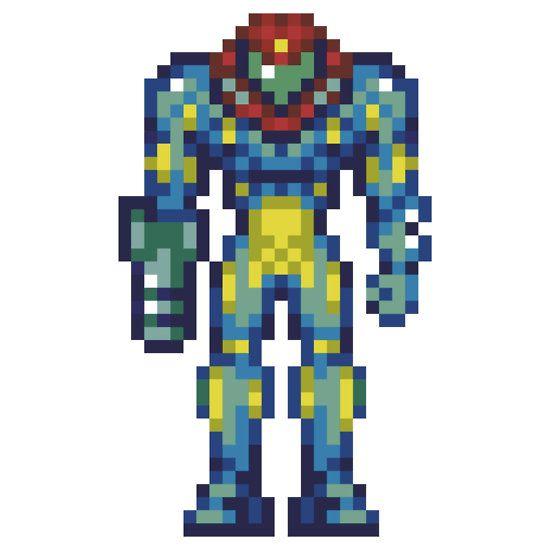 Samus Fusion Suit Sprites Metroid Fusion | Metro...