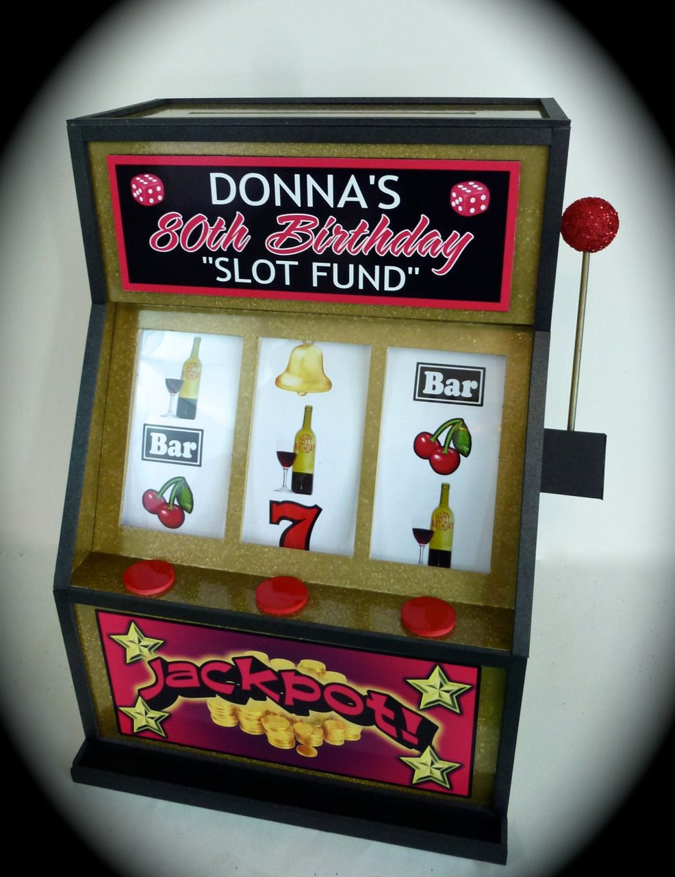 Slot Machine Gift Box