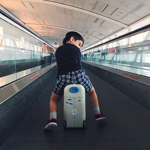 BedBox von Jetkids Koffer für Kinder und Flugzeugbett in