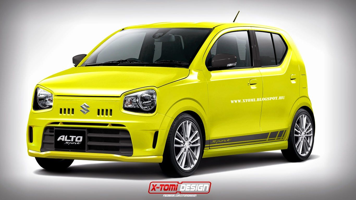 Captivating Ultra Cheap Hot Hatch U2013 A Hypothetical Suzuki Alto Sport
