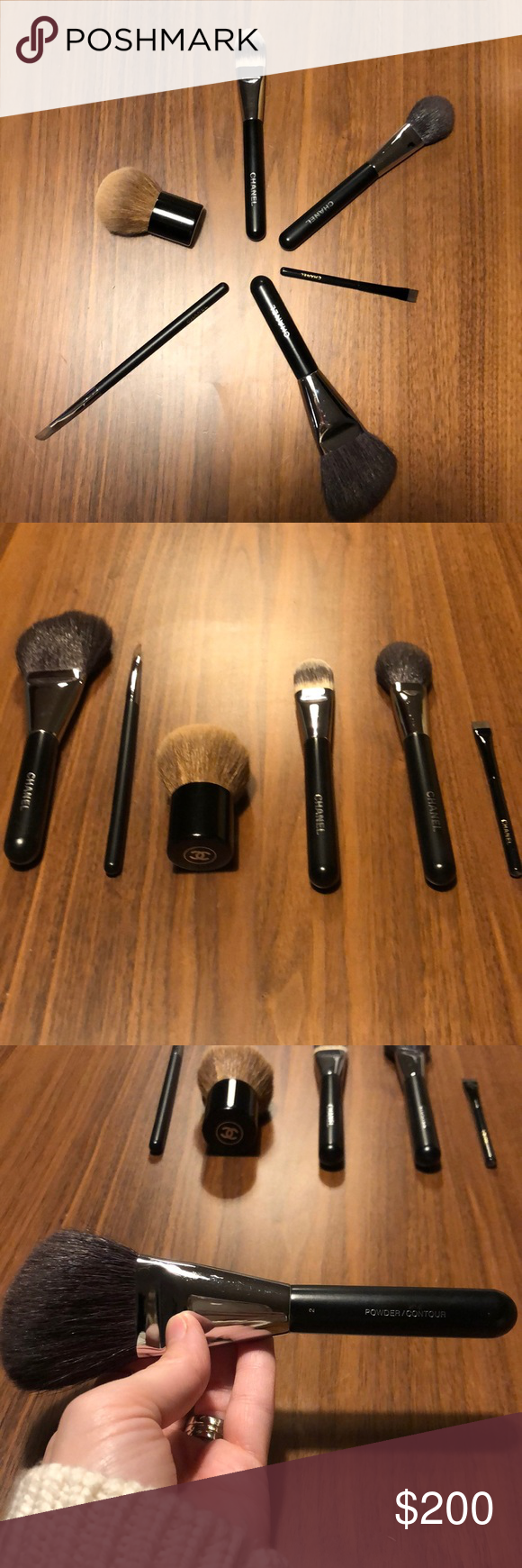 6 chanel brushes!! 😻 in 2020 Chanel brushes, Cream