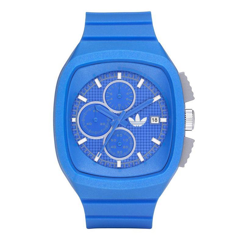 42cf15952a8 Maximablauw Adidas horloge, sportief en modern! | Adidas horloges .