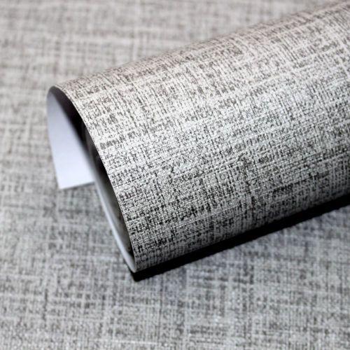 Faux Grasscloth Peel Stick Wallpaper Lt Grey Linen Self Adhesive Contact Paper Contact Paper Linen Wallpaper Contact Paper Cabinets