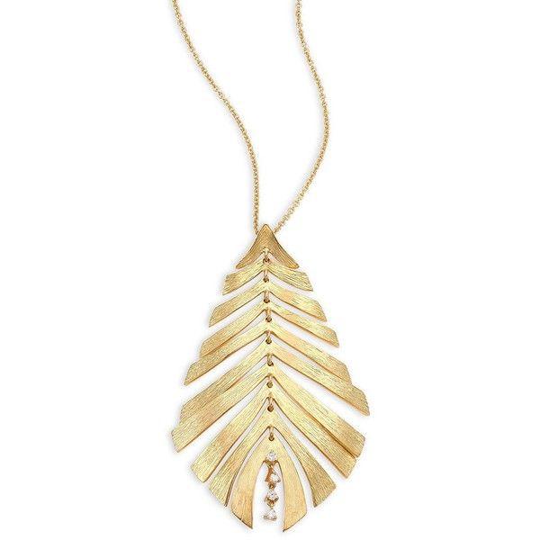 Hueb bahia diamond 18k yellow gold pendant necklace 2350 hueb bahia diamond 18k yellow gold pendant necklace 2350 liked on polyvore aloadofball Choice Image