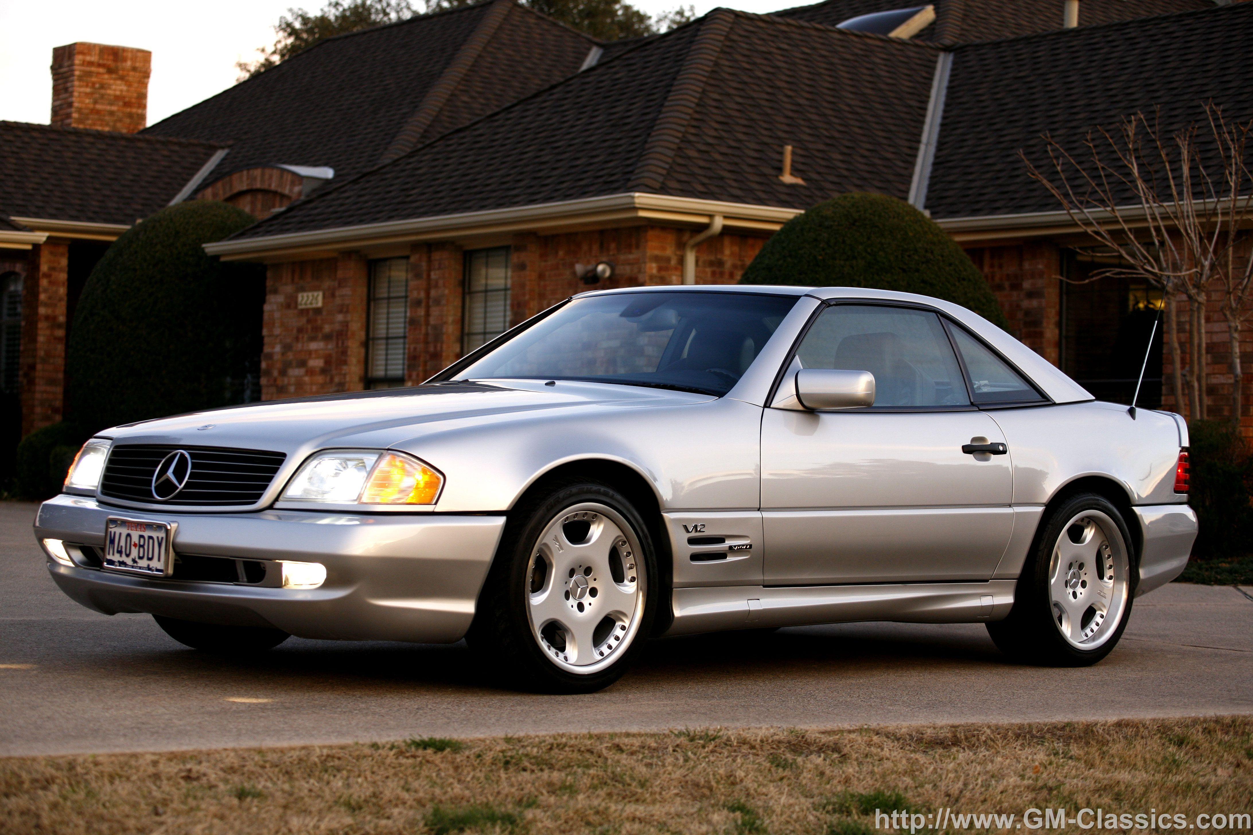 R129 Sl600 Renntech Mercedes Benz Mercedes Mercedes Sl Merc Benz