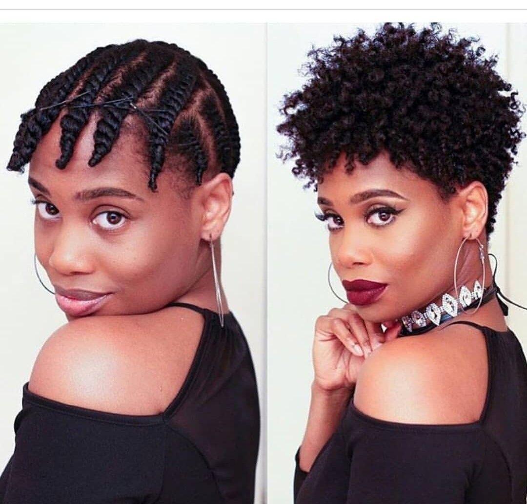 Short Hair Styles Natural Hair Natural Hair Twist Out Short Afro Hairstyles Natural Hair Twists