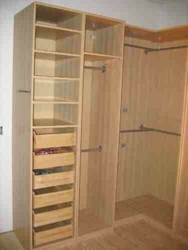 Pax corner wardrobe hacks google search ikea stuff for Interior designs for bedroom cupboards