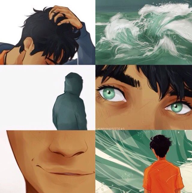 Percy Jackson Aesthetic Credits To Cherryandsisters On