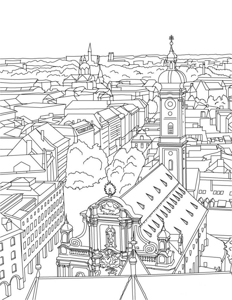 City Coloring Pages Best Coloring Pages For Kids Coloring Pages Coloring Pages For Kids People Coloring Pages