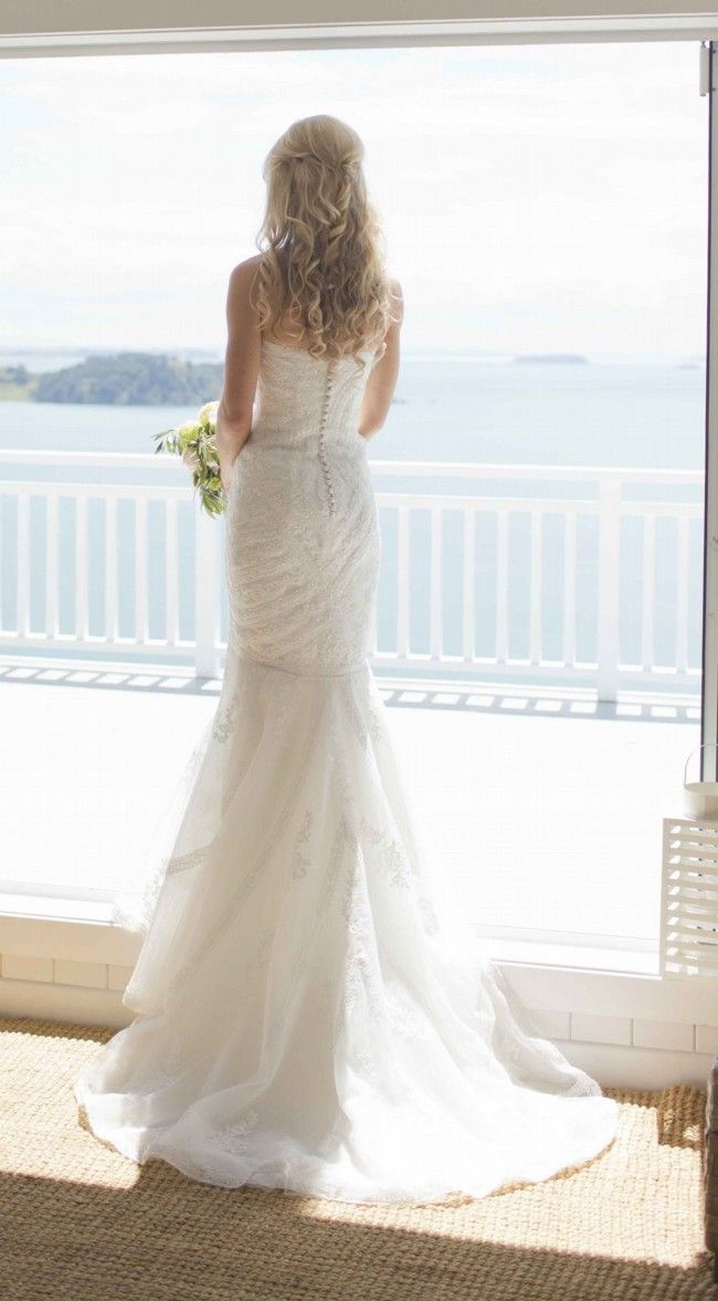 Pronovias Ombera Size 8 Second Hand Wedding Dress Still White New Zealand Wedding Dresses Second Hand Wedding Dresses Wedding Dresses For Sale