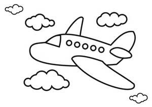 Aeroplane Picture Child Bing Images Simple Airplane Drawing