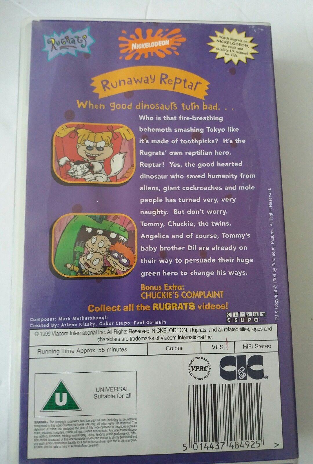 THE RUGRATS RUNAWAY REPTAR VHS VIDEO | eBay