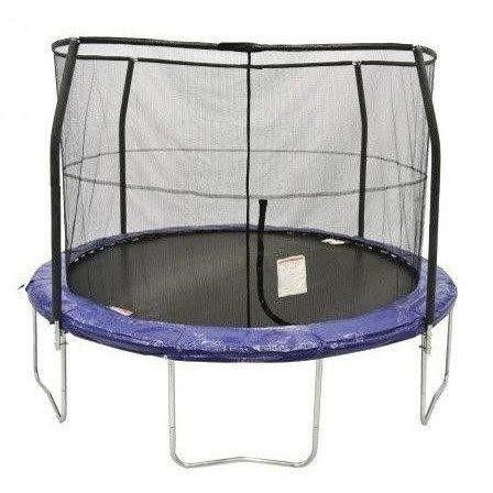 12' Round Trampoline with Enclosure