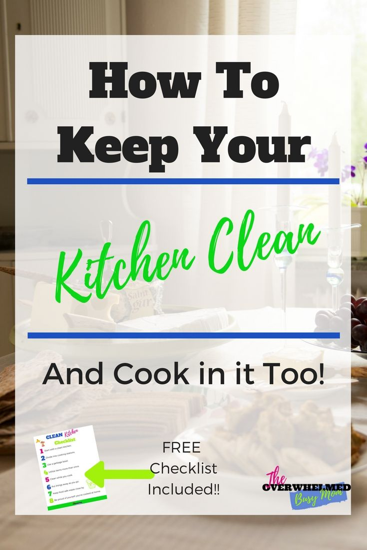 Are you frustrated with keeping up on your dirty kitchen? In this ...