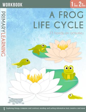 Frog Life Cycle Workbook | Workbooks - PrimaryLearning | Lifecycle