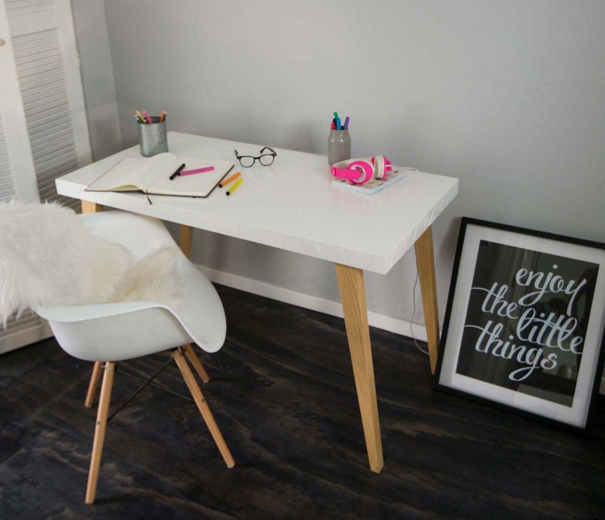 Escritorio Silla Replica Eames Armchair Blanco Escritorios  # Muebles Modernos En Guadalajara