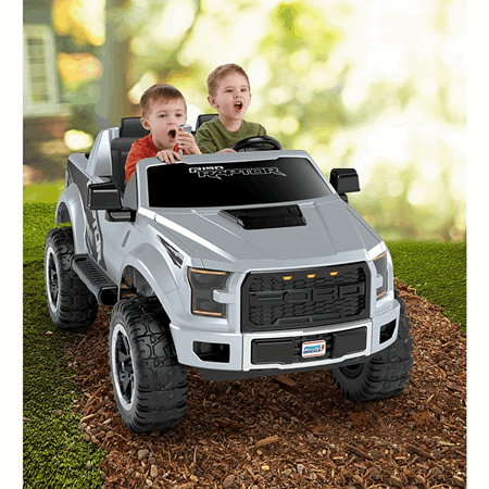 Power Wheels Ford F150 Raptor Ride On Vehicle Fjj63 Fisher