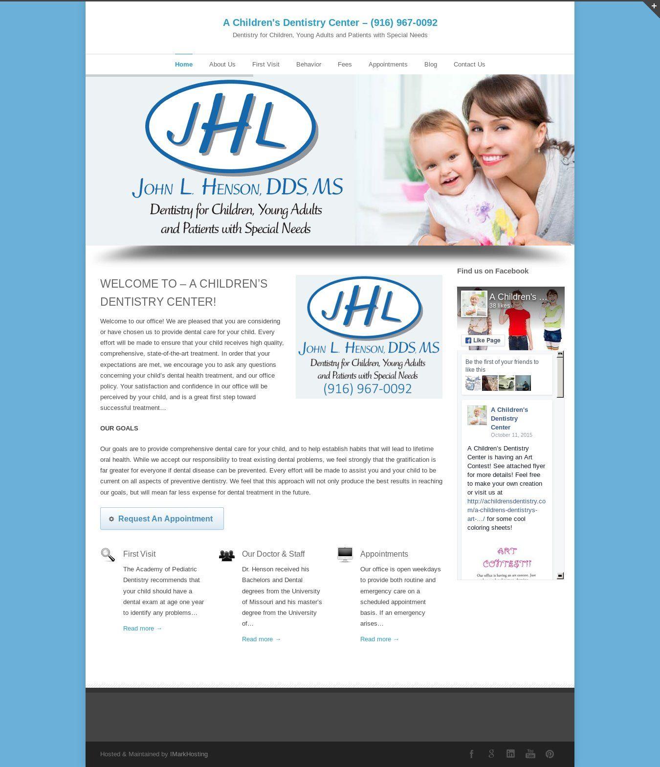 Wordpress site achildrensdentistry uses the inovado theme
