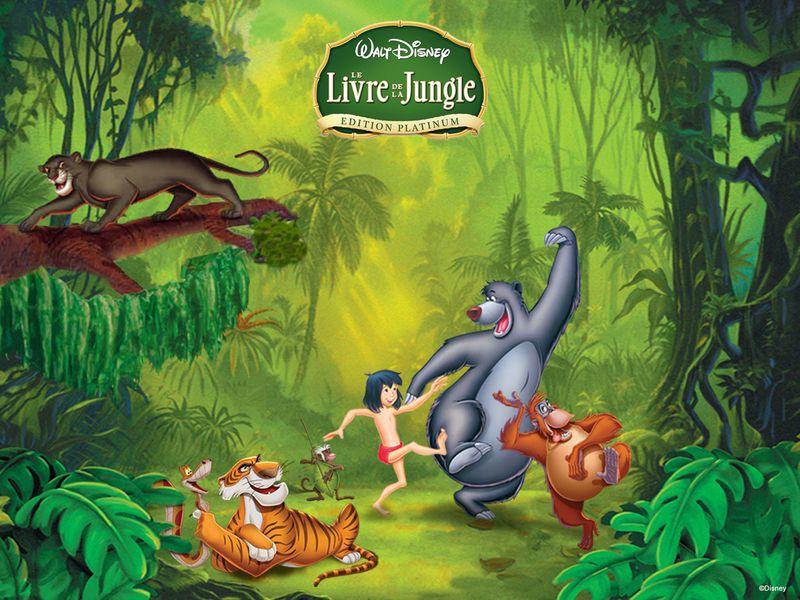 Le Livre De La Jungle Le Livre De La Jungle Jungle Et Livre
