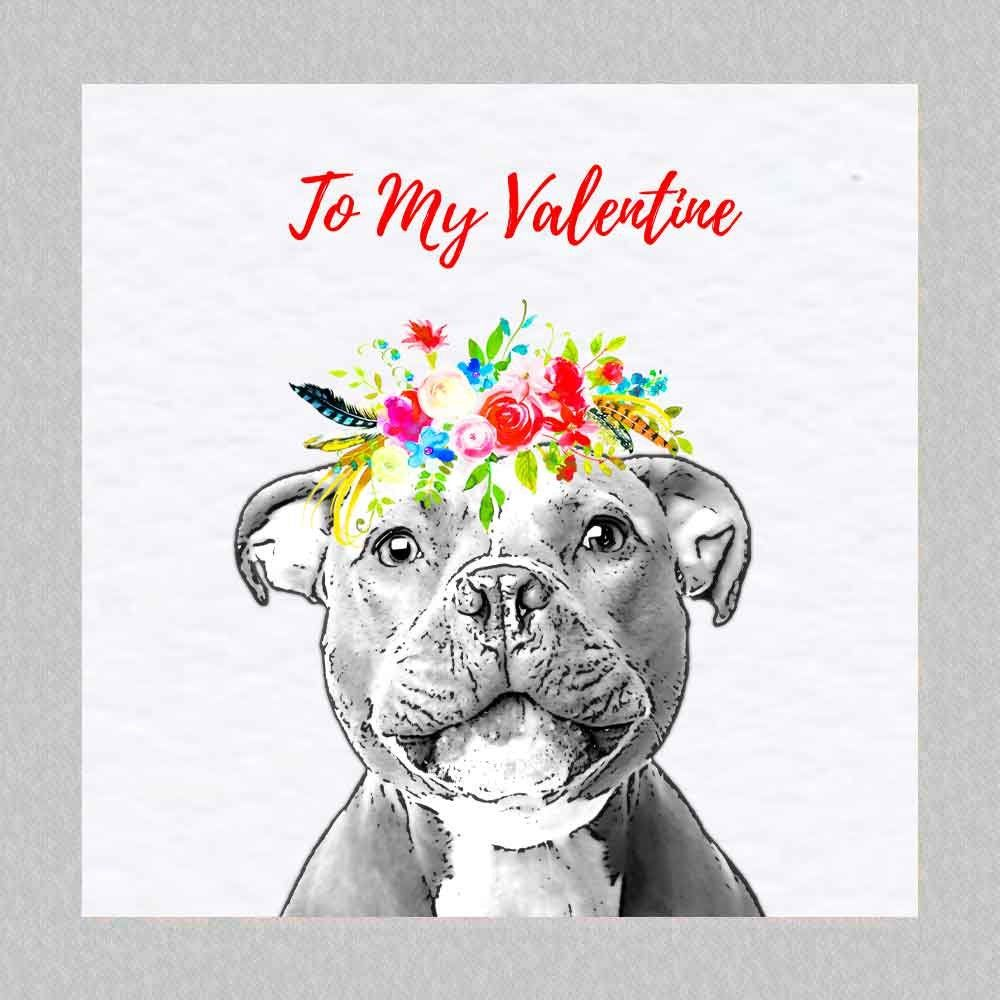 PERSONALISED STAFFY STAFFORDSHIRE BULL TERRIER DOG BIRTHDAY ANY OCCASION CARD