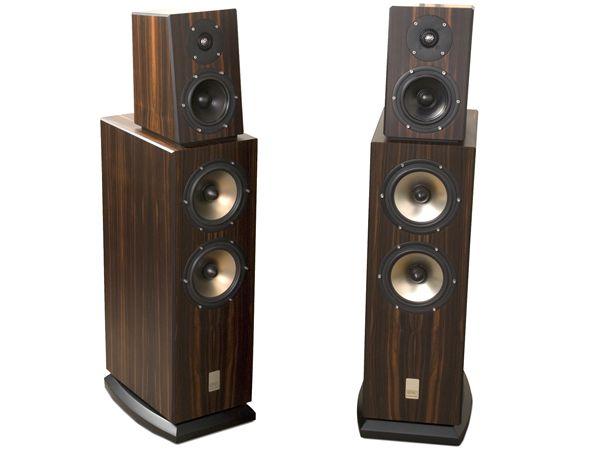 Sonics by Joachim Gerhard Allegra loudspeakers