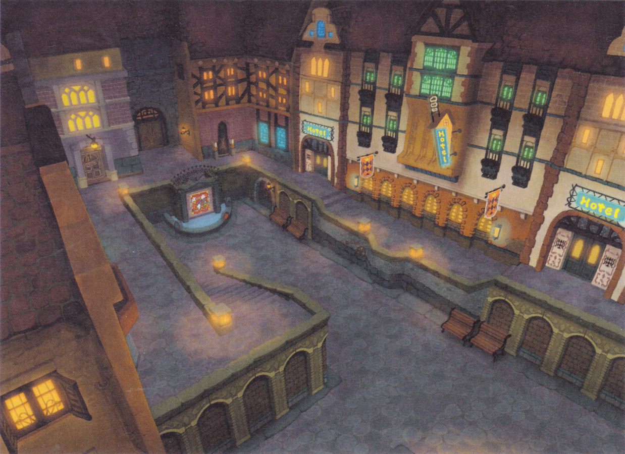 Image Result For Kingdom Hearts Traverse Town Inspo Kingdom Hearts Kingdom Hearts Ii Chain