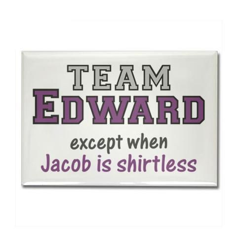 I think I am either team Cedric or shirtless Jacob if HP is not even an option...LOL but I don't care enough about the movie for more than the eye candy :)