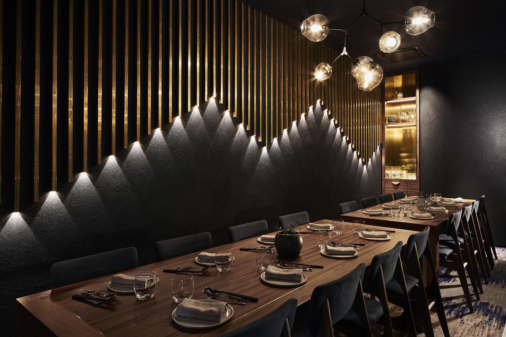 Private Dining Room 1 At Fujisaki Barangaroo Sydney Designed By